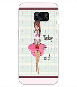 PrintDhaba Quote D-3797 Back Case Cover for SAMSUNG GALAXY S7 (Multi-Coloured)