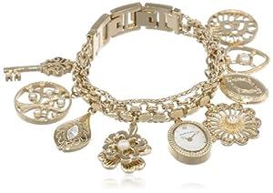 (幸福)Anne Klein 10-8096CHRM施华洛世奇水晶女士手链表 $79.99
