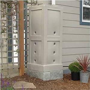 *Black* Free Water Rain Barrel Collection 95 gallon