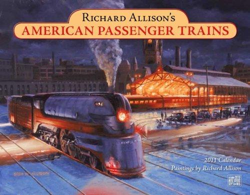 Passenger Trains 2011 Wall Calendar