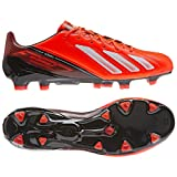 Adidas F50 Adizero TRX FG Leather Q33845 Messi Red White Black Mens Soccer Cleats by adidas
