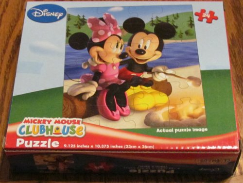 Mickey Mouse Clubhouse Camp Fire Puzzle 24pc