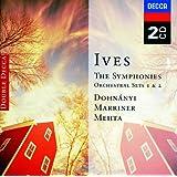 Ives: Symphonies Nos 1-4; Orchestral Sets Nos.1-2 (2 CDs)