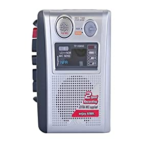 Cassette Recorder with voice sensor AIWA TP-VS650