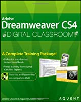 Dreamweaver CS4 Digital Classroom Front Cover