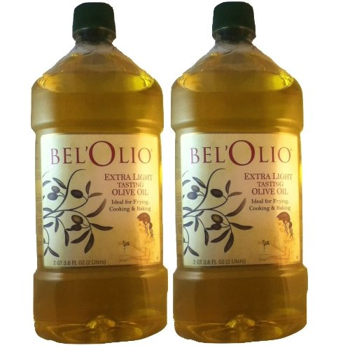 2 x Belolio Extra Light Tasting Olive Oil, 2 Liters by Belolio