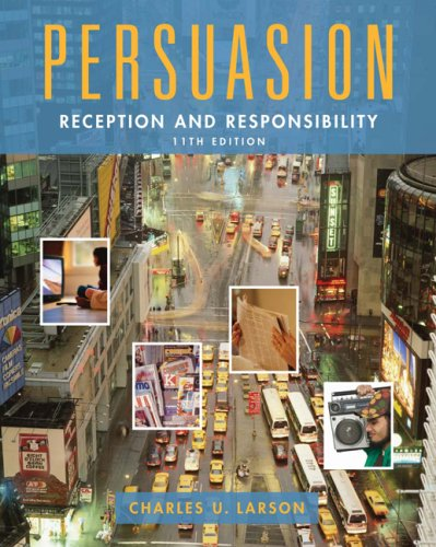Persuasion: Reception and Responsibility (Wadsworth...