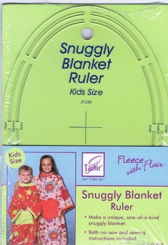 Fleece With Flair Snuggly Blanket Ruler Kids Size Jt-238 front-64290