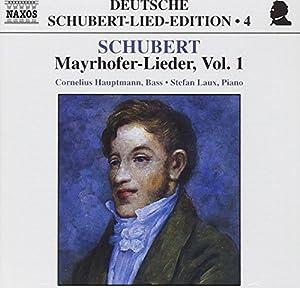 Deutsche Schubert-Lied-Edition Vol. 4 (Mayrhofer-Lieder Vol. 1)