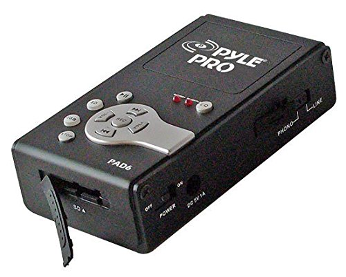 Pyle Pad6 Audio To Usb Interface & Recorder To Computer & Sd Card