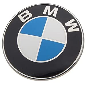 Oem Bmw Trunk Hood Trunk Emblem Roundel Logo 82 Mm from BMW