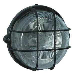 Brennenstuhl 1270700 Rundleuchte Color IP 44 100 W, schwarz
