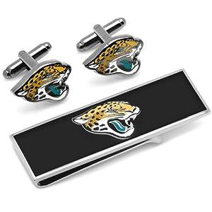 Jacksonville Jaguars Cufflinks and Money Clip Gift Set by Cufflinks