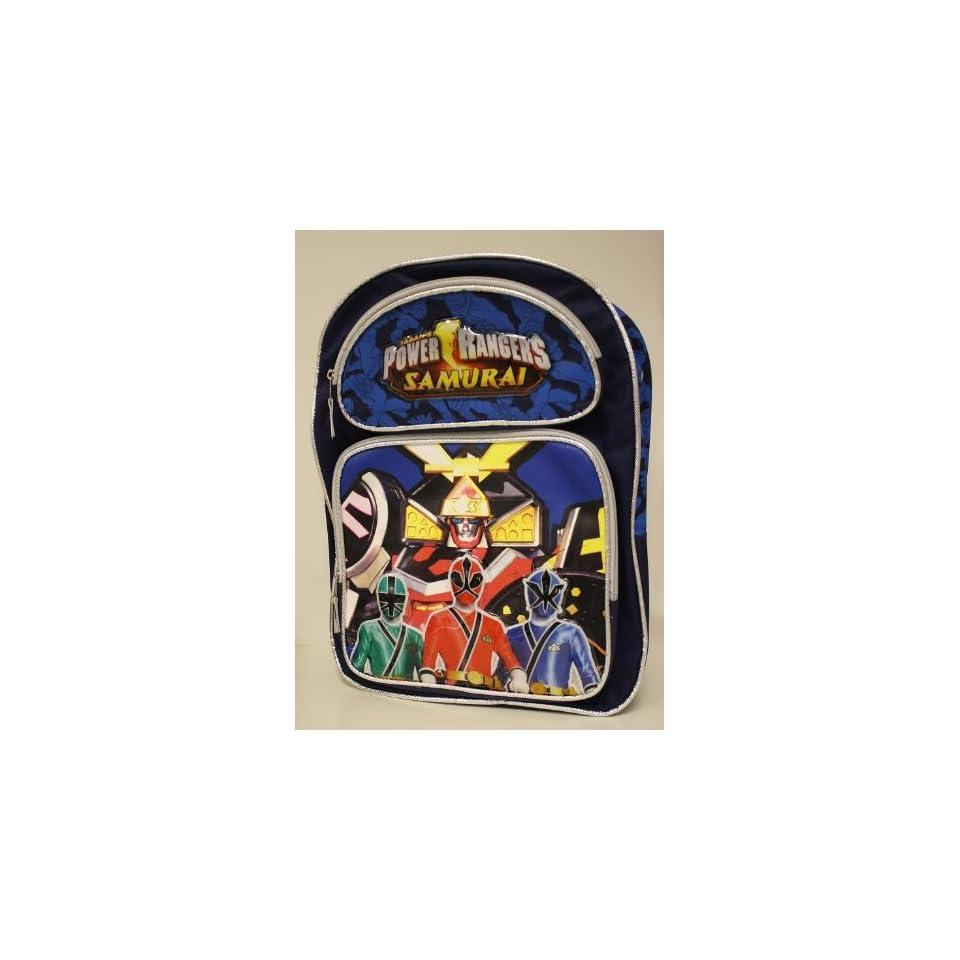 Power Rangers Samurai 16inch Backpack Large school bag