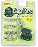 Giga Pets - Floppy Frog - 1997 Original Tiger Electronic Virtual Pet LCD Game