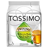TASSIMO Twinings Thé Vert à La Menthe, Green Mint Tea, 16 T DISCs (Pack of 1, Total 16 T DISCs) Large Cup Size