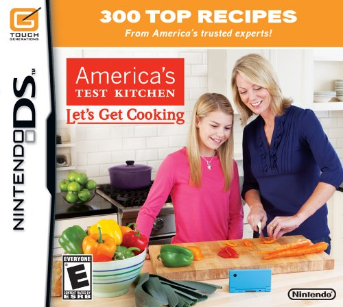 America's Test Kitchen: Let's Get Cooking - Nintendo DS - 1