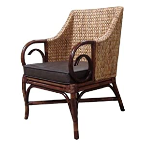 Wicker Arm Chair On Shoppinder