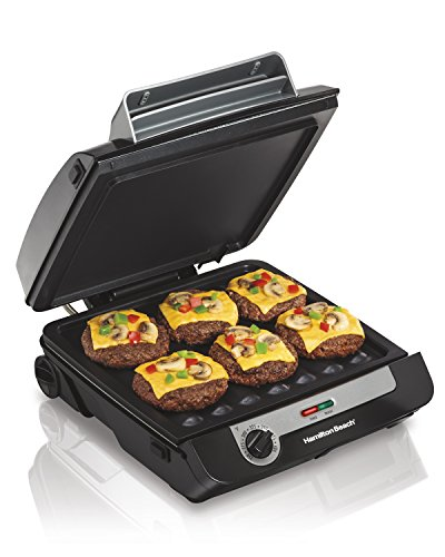 Hamilton Beach 3-in-1 MultiGrill Indoor Grill, Griddle & Bacon Cooker (25600) (Hamilton Beach Electric Griddle compare prices)