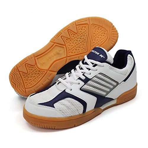 Vector X Unisex White Mesh Atheletix Shoes 11