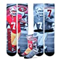 Colin Kaepernick San Francisco 49ers For Bare Feet NFL Drive Player Profile Socks
