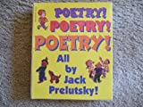 Poetry Poetry Poetry All By Jack Prelutsky 3 book set