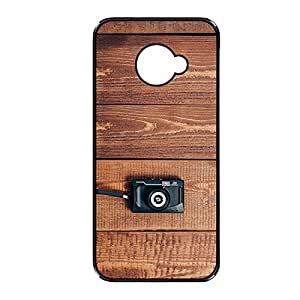 Vibhar printed case back cover for Samsung Galaxy Note 2 WoodCamera