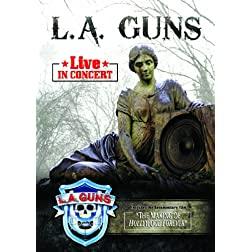 L.A. Guns - Live In Concert Limited Edition with bonus Cd