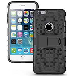 Novo Style Dual Layer Kick Stand Hard Back Case For Apple iPhone 6+