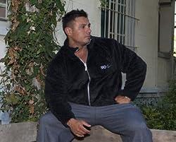 BIG SAM SweatJacket Sweater Sweatshirt Hoody UNCLE BODY DOG LOGO *3543*