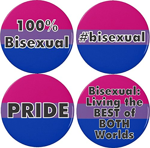 Set 4 Bisexual Pride BEST of BOTH Worlds Flag 1.25