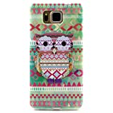 PowerQ Colorful TPU Pattern Series for Samsung GALAXY A3 A300 SM-A300FU Case Bag Pattern Print Printing Drawing Cell Phone Case mobile Cover Soft Protect Skin (Y2)