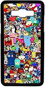 FCS Printed 2D Designer Hard Back Case For Samsung Galaxy On5 With Universal Mobile Stand