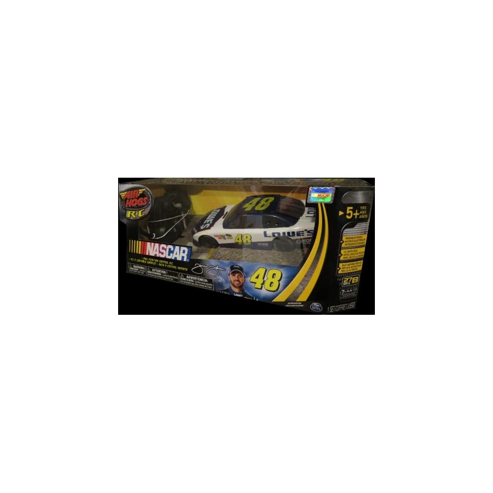 Nascar 124 Scale Jimmie Johnson 48 Airhogs Rc Car On Popscreen