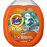 Tide PODs Plus Febreze Laundry Detergent Pacs - Botanical Rain Scent - 61 ct