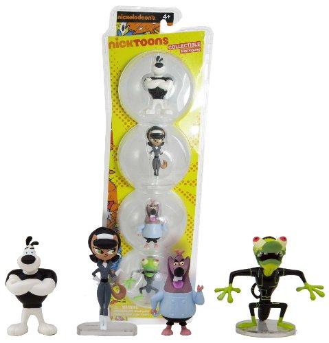 "Tuff Puppy ~2"" Mini-Figure Boxset: Nicktoons 'Tuff Puppy' Figure Boxset Series"