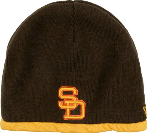 d17719e5489 San Diego Padres Cooperstown Collection AC Performance Therma Base On Field  2010 Knit Hat Review