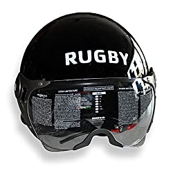 Asco 95028 HELMET WITH TRENDY WISER Rugby Logo