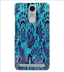 PrintDhaba Pattern D-2833 Back Case Cover for LENOVO K5 NOTE (Multi-Coloured)