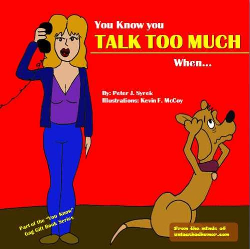 funny quotes about talking too much