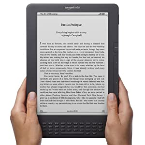 """Kindle DX, Free 3G, 9.7"""" E Ink Display, 3G Works Globally from Amazon"""