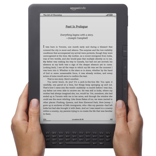 Kindle DX Wireless Reading Device, Free 3G, 3G Works Globally, Graphite, 9.7&quot; Display