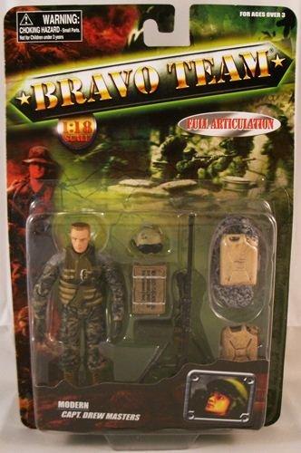 Buy Low Price Unimax Bravo Team Modern Series U.S. Army Capt. Drew Masters Tank Commander Action Figure (B00551AV0S)