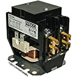 OEM Replacement for Trane Double Pole / 2 Pole 30 Amp 24v Condenser Contactor Relay CTR02573