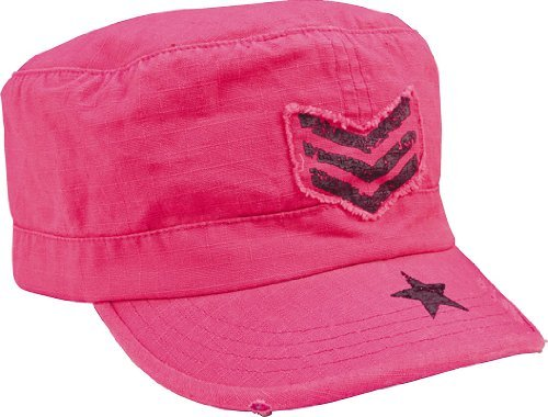 Rothco Women's R/S Adj Vint Fat Cap, Pink/Black SGT - 1