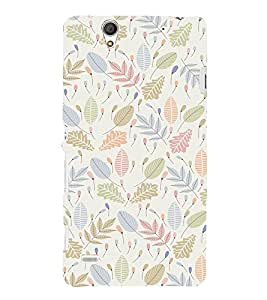 EPICCASE Simplicity Mobile Back Case Cover For Sony Xperia C4 (Designer Case)