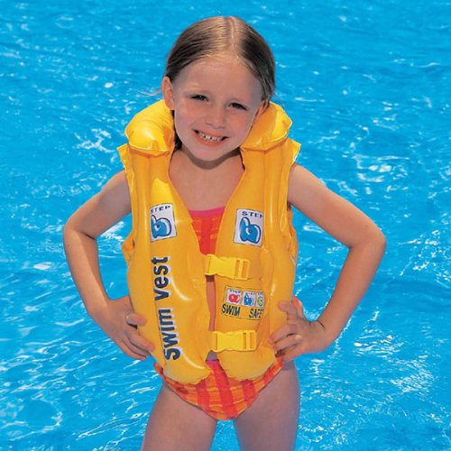 Bestway Premium Swim Vest Swimming Aid - Yellow