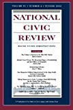 img - for National Civic Review, No. 4, Winter 2002: New Directions in Political Reform (J-B NCR Single Issue National Civic Review) (Volume 91) book / textbook / text book