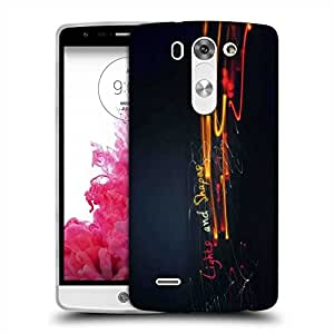 Snoogg Lights And Shapes Designer Protective Phone Back Case Cover For LG G3 BEAT
