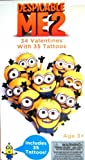 Despicable Me2 34 Valentines with 35 Tattoos